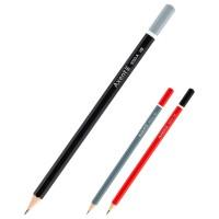 Карандаши графитные без ластика (12 штук в коробке) 9000/12-A