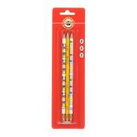 Олівець графітний з гумкою Таблиця множення НВ (3шт)
