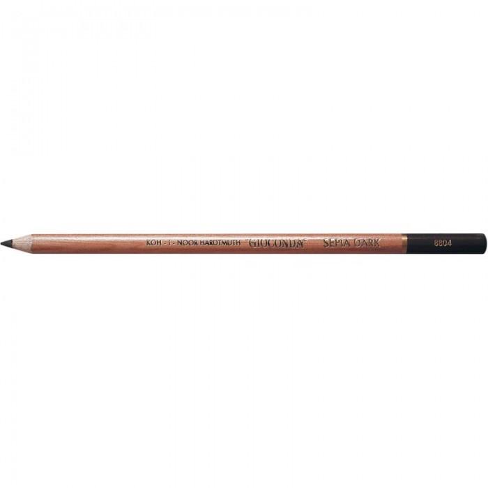 Олівець художній (сепія темно-коричнева ) GIOCONDA