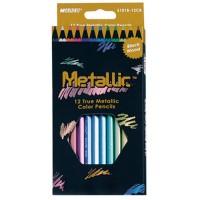 Карандаши цветные Metallic (12цв) 5101В-12СВ