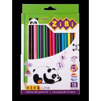 Олівці кольорові Kids Line (18 кольорів) ZB.2415