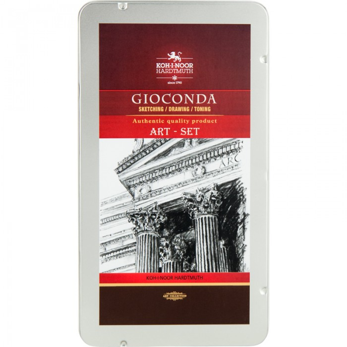 Набір художній Gioconda 8893 в металевій коробці (10 предметов)