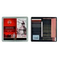 Набор художественный Gioconda 8899 в металлической коробке (24 предмета)