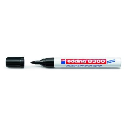 Маркер Industry Permanent е-8300 (чорний) e-8300/01