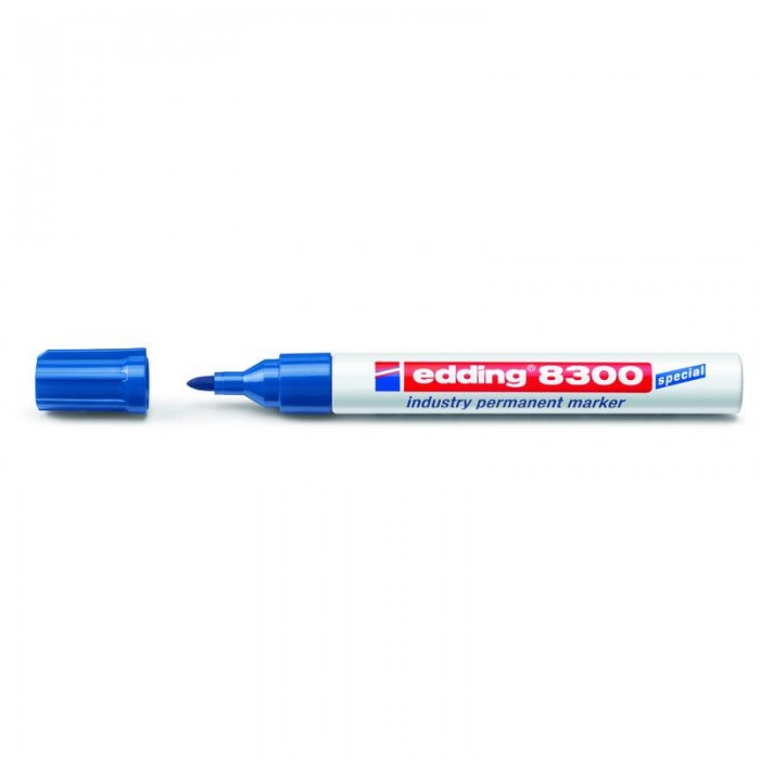 Маркер Industry Permanent е-8300 (синій) e-8300/03