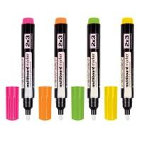 Набір із 4-х маркерів для скляних дошок
