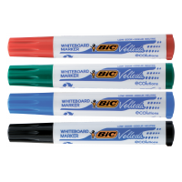 Набір маркерів для сухостираємих дошок Velleda BIC (4кол)