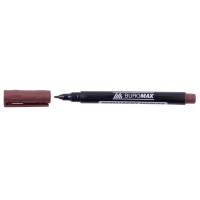 Маркер перманентный водостойкий  (коричневый) BM.8704-25