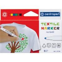 Набор маркеров Textile (6 цветов) 2739.6