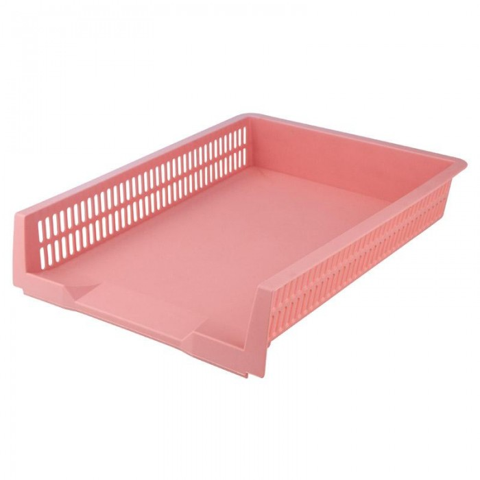 Лоток горизонтальный Pastelini (розовый) 4040-10-a