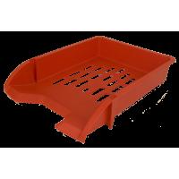 Лоток горизонтальный (красный) 80104