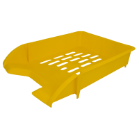 Лоток горизонтальный (желтый) 80107