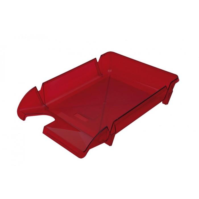 Лоток горизонтальный Компакт (ярко красный) 80604