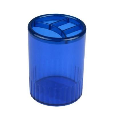 Стакан-подставка на 4 отделения (синий)