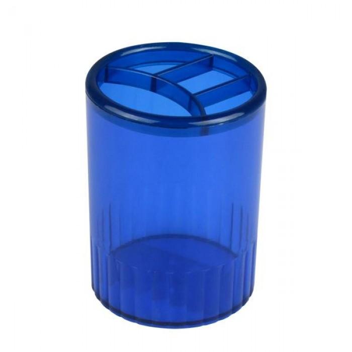 Стакан-підставка на 4 відділення (синій)
