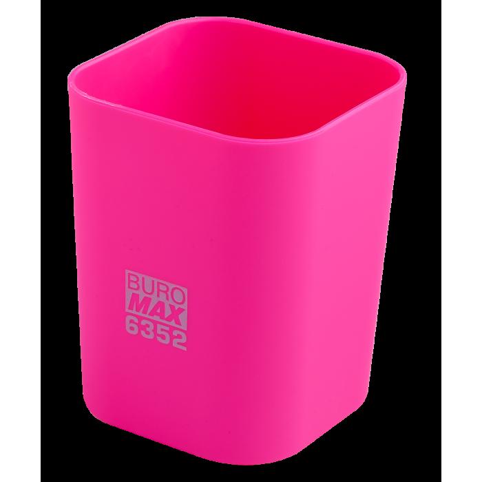 Стакан для письмового приладдя (рожевий) bm.6352-10