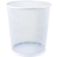 Корзина для бумаг круглая (белый) 2119-21-A
