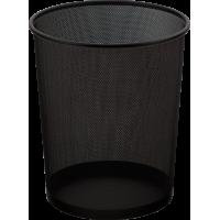 Корзина для бумаг круглая (черный) bm.6270-01