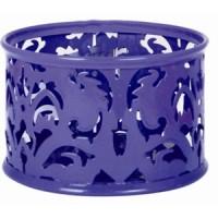 Подставка для скрепок  Barocco  металлическая (фиолетовый) bm.6222-07