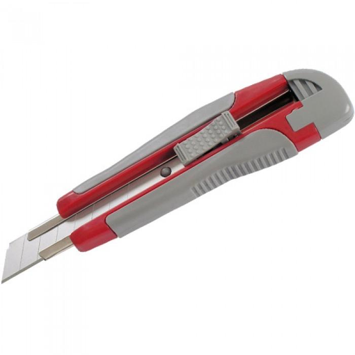 Нож канцелярский + 2 запасных лезвия (18 мм) 6702-A