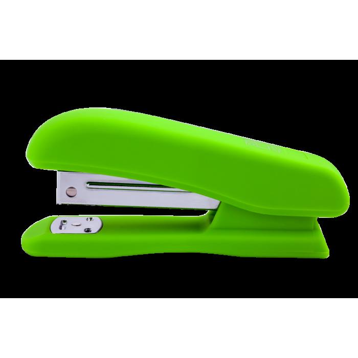 Степлер (скоба №24/6) светло-зеленый bm.4202-15