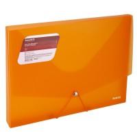 Папка на резинках объемная, А4 (оранжевый) 1502-25-a