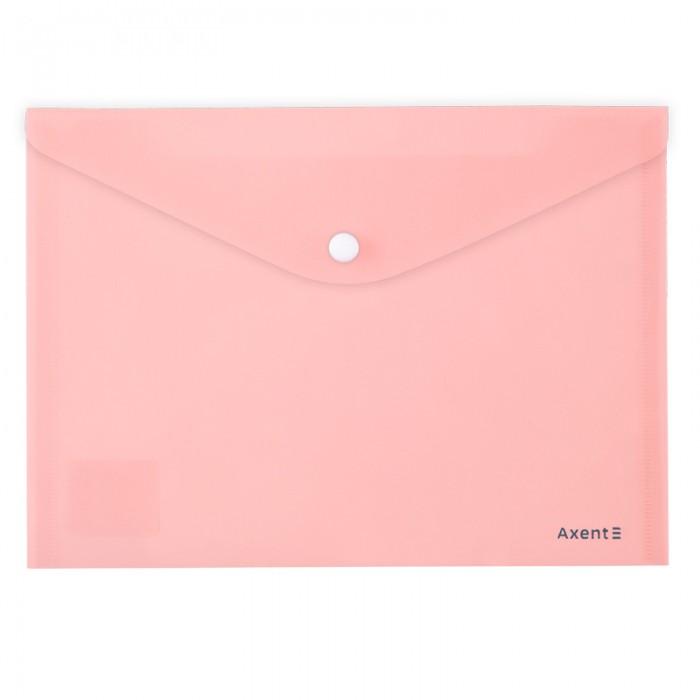 Папка-конверт на кнопке Pastelini А5 (розовый) 1522-10-A