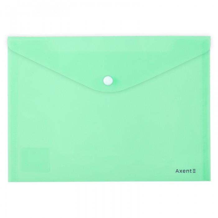 Папка-конверт на кнопці Pastelini А5 (м'ятний) 1522-18-A