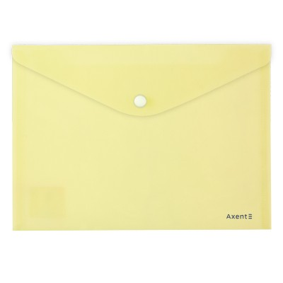 Папка-конверт на кнопці Pastelini А5 (жовтий) 1522-08-A