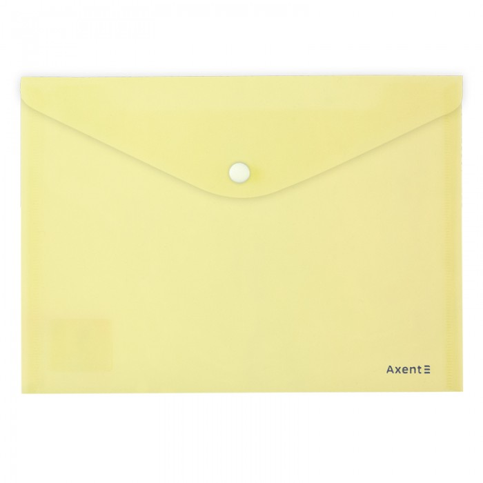 Папка-конверт на кнопке Pastelini А5 (желтый) 1522-08-A