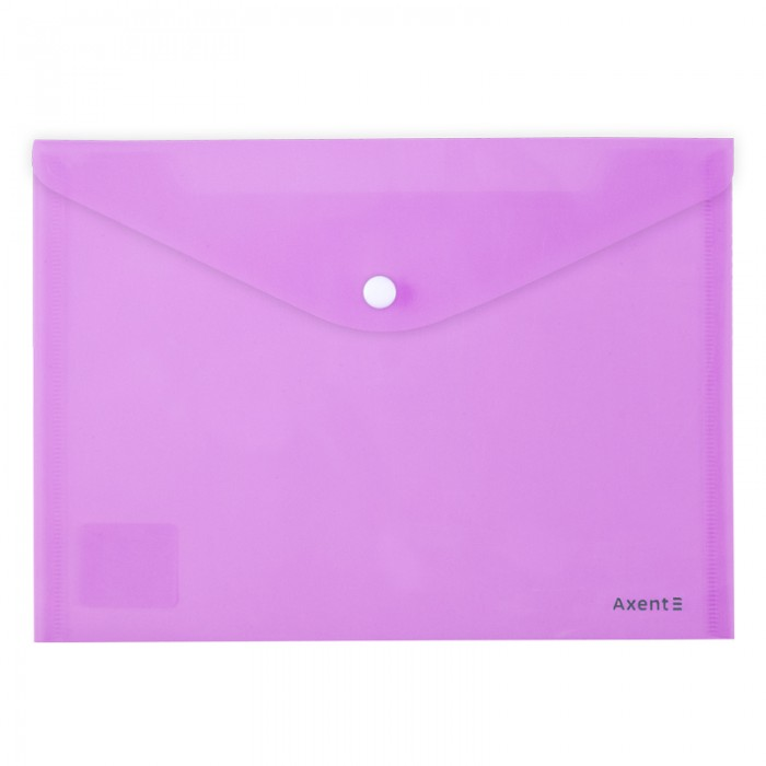 Папка-конверт на кнопці Pastelini А5 (бузковий) 1522-36-A