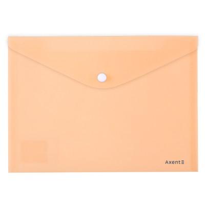 Папка-конверт на кнопке Pastelini А5 (персиковый) 1522-42-A