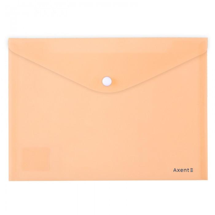 Папка-конверт на кнопці Pastelini А5 (персиковий) 1522-42-A