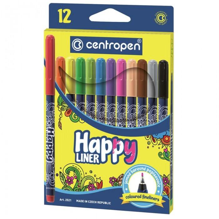 Набор линеров цветных 2521 HAPPY (12 цветов)
