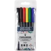 Набір лінерів кольорових 7770 (6 кольорів)