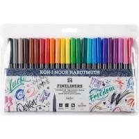 Набір лінерів кольорових 7770 (24 кольори)