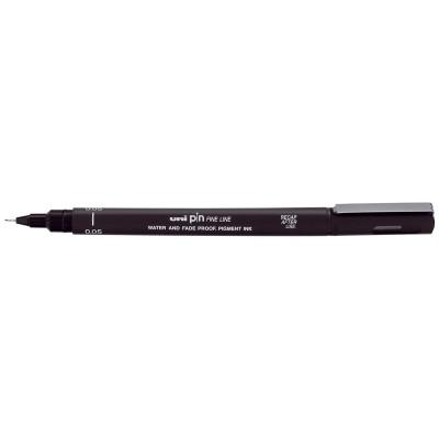Лайнер-рапидограф UNI PIN Fine Line, черный (0,5мм) PIN-200