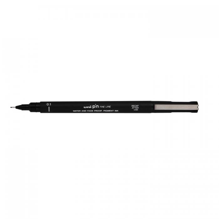 Лайнер-рапідограф UNI PIN Fine Line, чорний (0,1мм) PIN-200