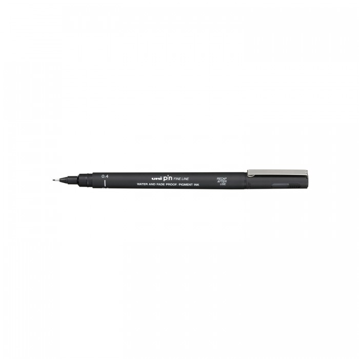 Лайнер-рапідограф UNI PIN Fine Line, чорний (0,8мм) PIN-200