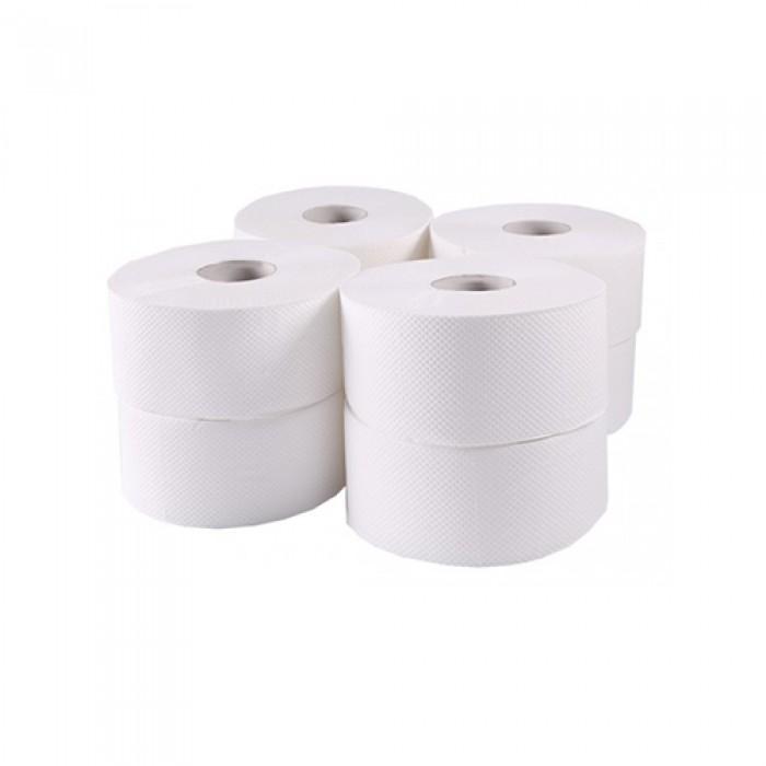 Туалетная бумага Джамбо (белая) 120м. 203 021