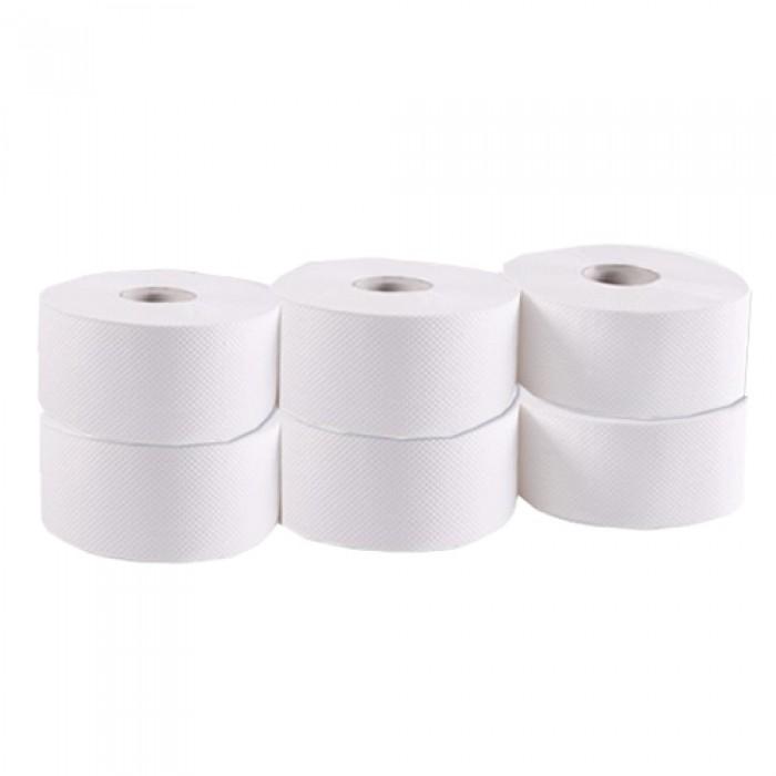 Туалетная бумага Джамбо (белая) 160м. 203 022
