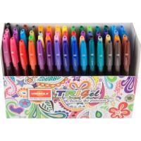 Набір гелевих ручок Trigel Mixed (60 кольорів)