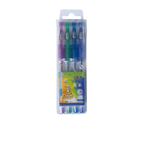 Набір із 4-х гелевих ручок Glitter  ZB.2200-99