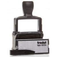 Датер самонаборный 4-х строчный металлический Trodat 5465, лат