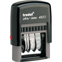 Датер Trodat Printy 4820, рус, 4 мм