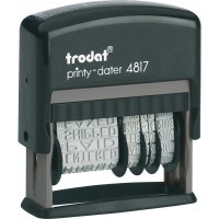 Датер с 12-ю бухгалтерскими терминами Trodat Printy 4817, укр, 3,8 мм