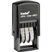 Минидатер Trodat Printy 4810, рус, 3,8 мм