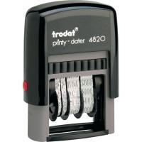 Датер Trodat Printy 4820, лат, 4 мм