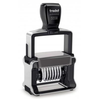 Нумератор металлический Trodat 5558, 8-ми разрядный, 5 мм