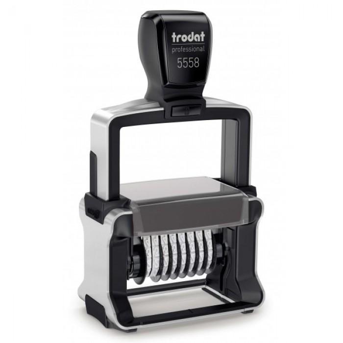 Нумератор металевий Trodat 5558, 8-ми розрядний, 5 мм